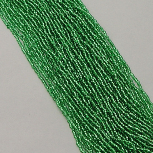 Light Green #11 seed bead | Silver Lined