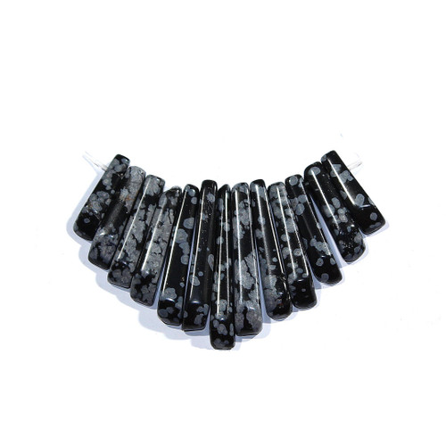 Snowflake Obsidian Mini Fans