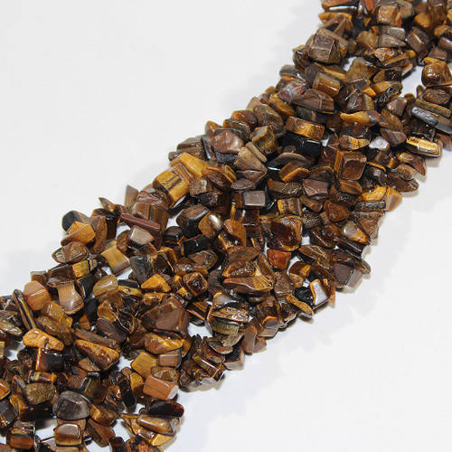 Tiger Eye Beads | Chips