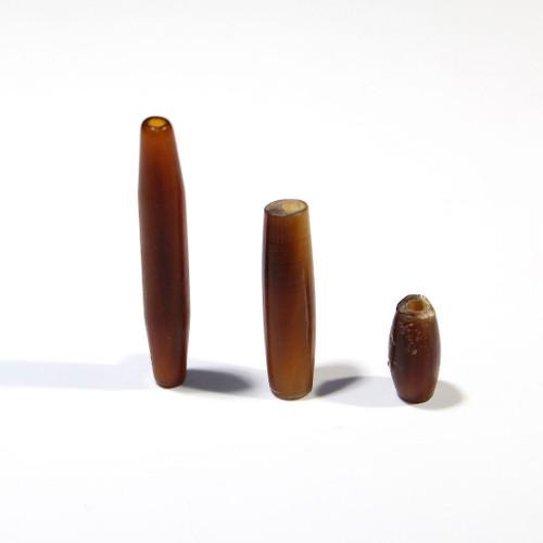 Golden Horn Hairpipe   .5 inch   100 count