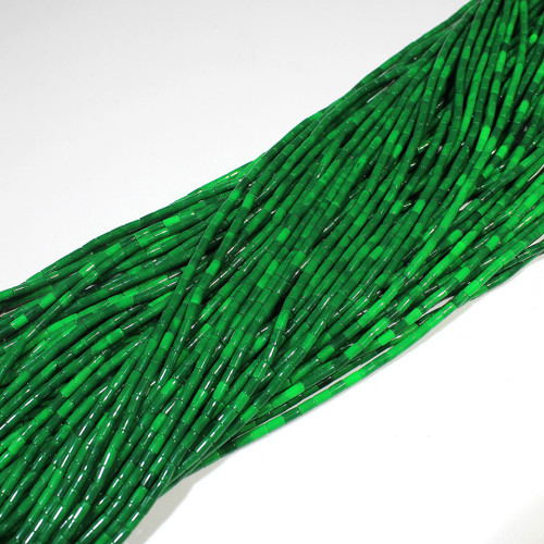 Block Malachite 2-3mm Heishi | $4.30 Wholesale