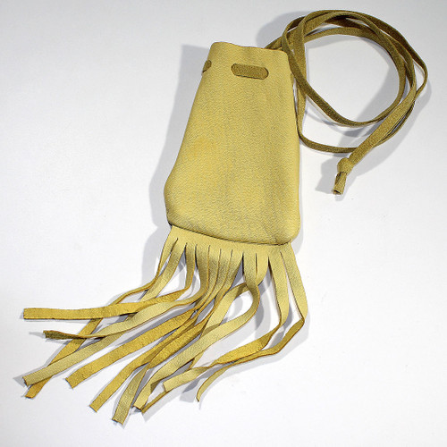 Navajo leather Bag with fringe