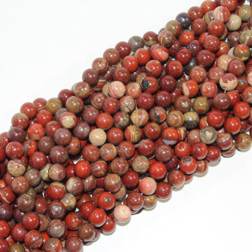 Red Silver Leaf | 10mm Rounds | $4.95 wholesale