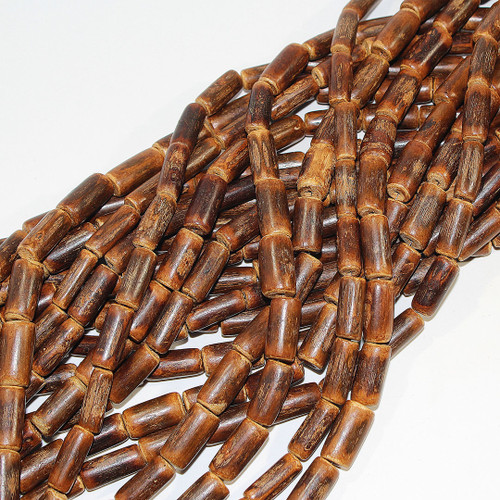 Mahogany Branch Beads 12x18mm | $2.00 Wholesale