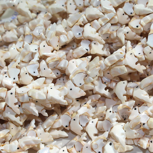 Dolphin Beads   Luanos Shell   $6 wholesale