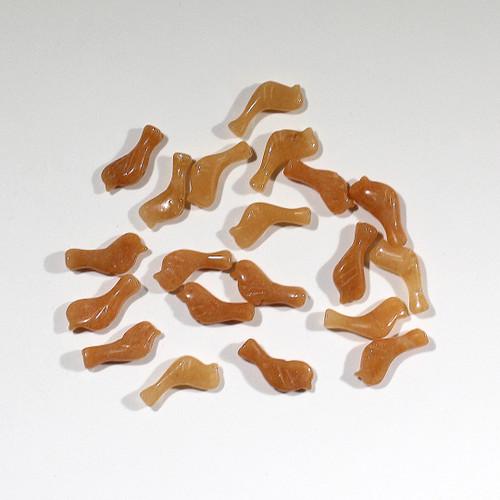 Orange Adventurine Song Bird Beads | $1.50