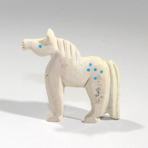 Horse Fetish - Albert Livingston | Zuni Fish Rock