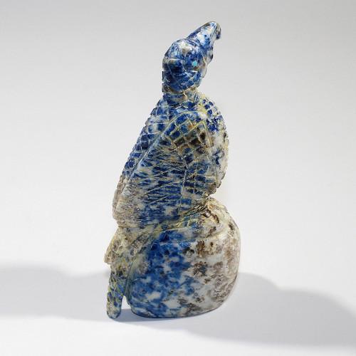 Hawk Fetish by Scott Gaarnat | Lapis Lazuli
