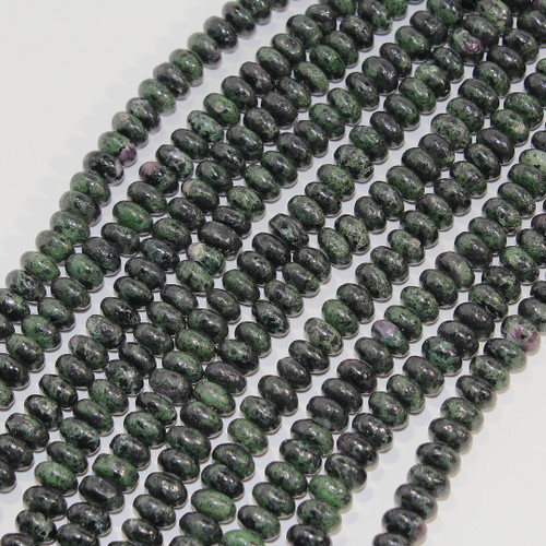 Ruby Zoisite | 8mm rondelle