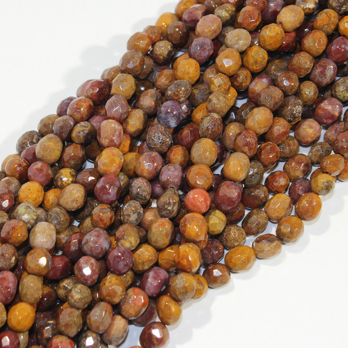 Plume Agate | Pebbles - Faceted | Wholesale $8.50