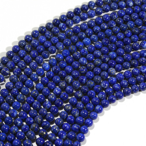 6mm Lapis Rounds | Wholesale $18