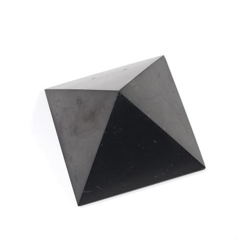 Shungite Pyramid   2 x 2 inches