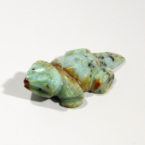 Horned Toad Fetish Carved By Zuni Artist Albert Livingston | Marialite