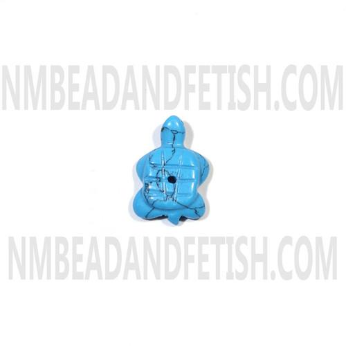 Block Dark Martix Turtle Fetish Bead