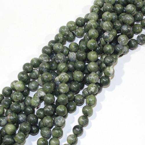 10mm Nephrite Jade Rounds