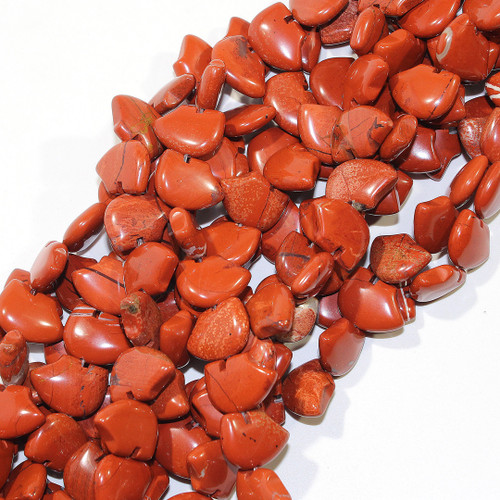 Red Jasper Bear Bead Strands