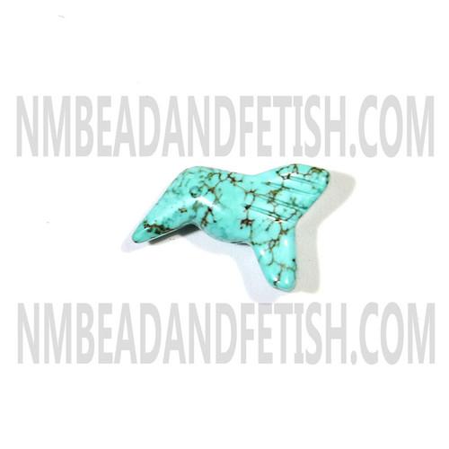 Magnesite Hummingbird Fetish Bead