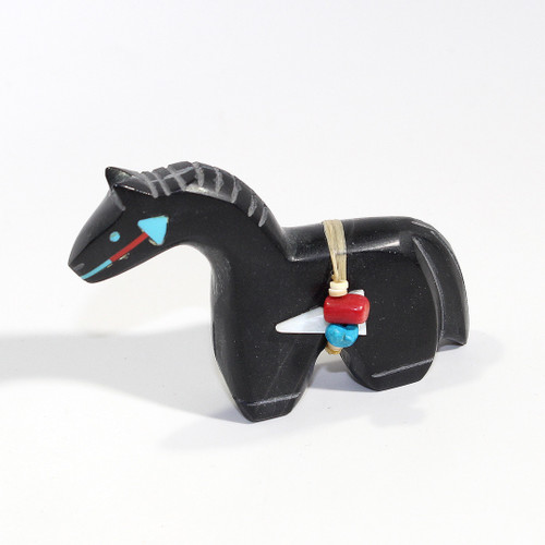 Stewart Alonzo Horse Fetish | Black Marble