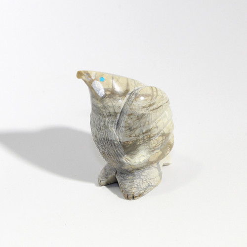 Stewart Alonzo Eagle Fetish |  Picasso Marble