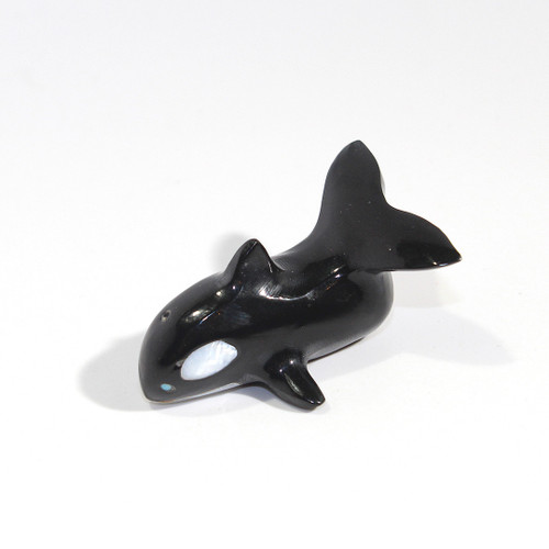 Calvert Bowannie Orca Fetish | Black Marble and Mother of Pearl #4