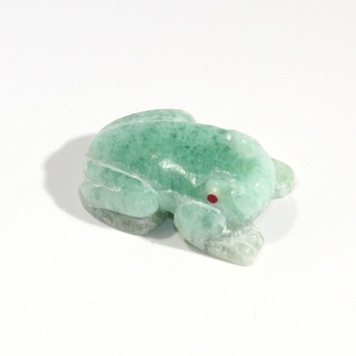 Brian Yatsattie Frog Fetish | Green Fluorite