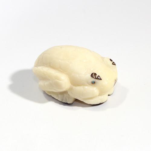 Brian Yatsattie Frog Fetish | Tagua Nut