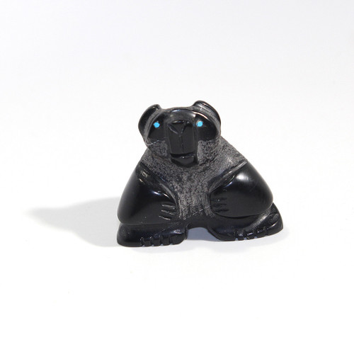 Reynold Lunasee Bear Fetish | Black Marble #4