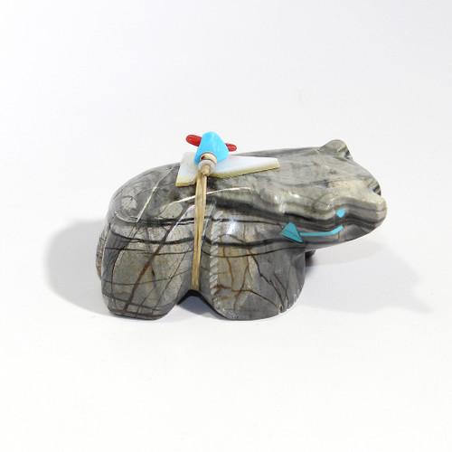 Stewart Alonzo Badger Fetish | Picasso Marble #3