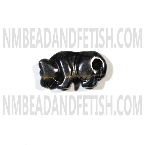 Picasso Marble Mountain Lion Fetish Bead