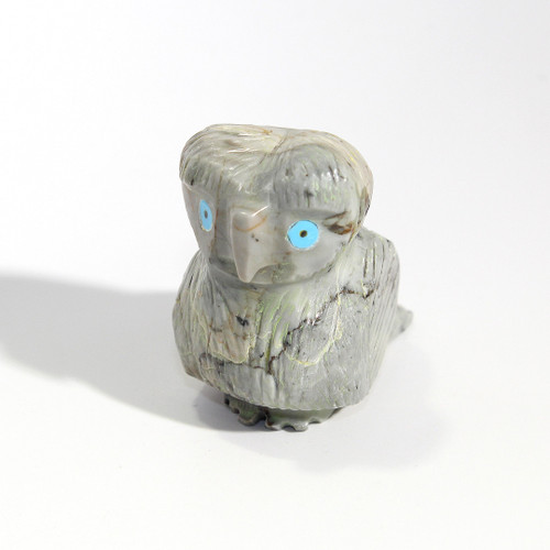 Ben Bacy Owl Fetish   Picasso Marble