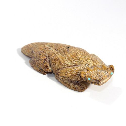 Scott Gaarnat Horned Toad | Fossil Marble