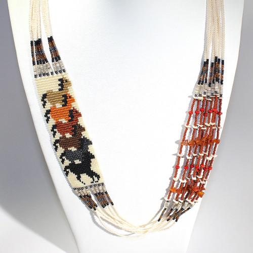 Dennis Dennison Horse Necklace