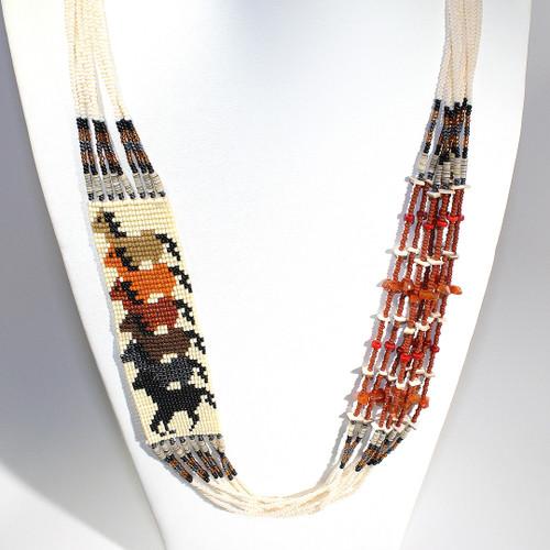 Dennis Dennison Horse Necklace #2