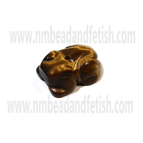 Tigers Eye Zuni Fetish Bead