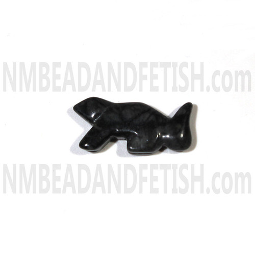 Picasso Marble Squirrel Bead Zuni Style Bead