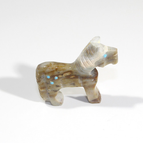 Todd Etsate Horse Fetish   Picasso Marble