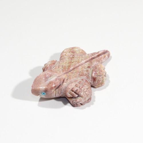 Elouise Lee Horned Toad Fetish | Alabaster #3