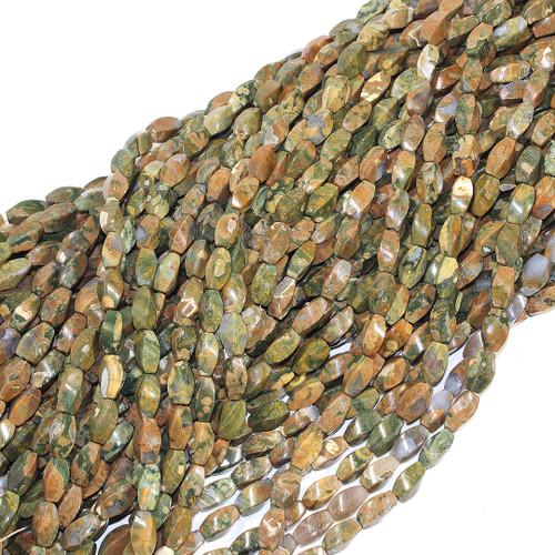 Rhyolite | Rice - Quad Twist 9x15mm | Wholesale $9