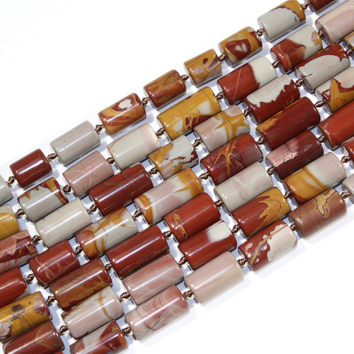 10x20mm Noreena Jasper Tubes | $15 Wholesale