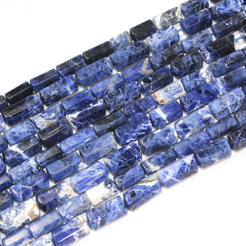 Sodalite Hex Barrel 11x18 | $15 Wholesale