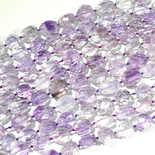 A Grade Amethyst Faceted Nuggets | $50 Wholesale