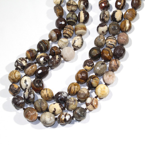 Outback Jasper Faceted Nuggets | CLOSEOUT