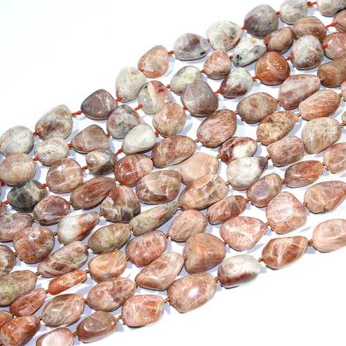 African Sunstone Nuggets
