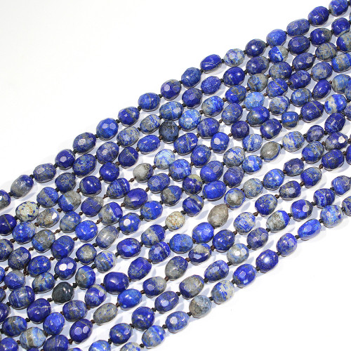 Lapis Faceted Nuggets