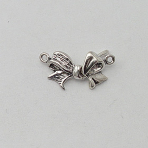 Sterling Silver Bow Clasp
