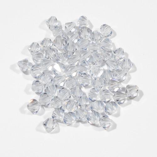 Swarovski Bicone | Shadow Crystal | 6mm | 10 count bag