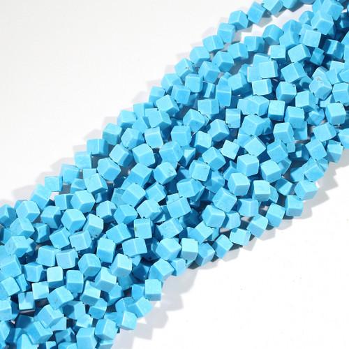 Magnesite Cubes Diagonal Drilled   $4 Wholesale