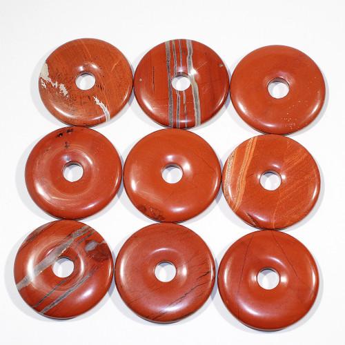 Red Jasper 50mm Donut