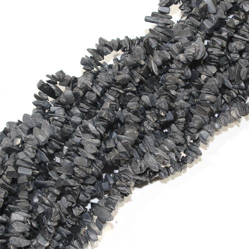 Black Agate Chips