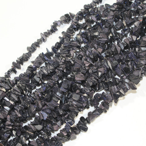 Blue Goldstone Chips